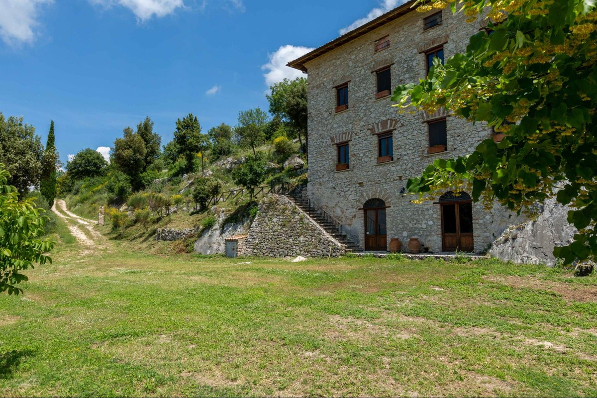 HISTORICAL FARMHOUSE SURROUNDED BY OLIVE GROVES