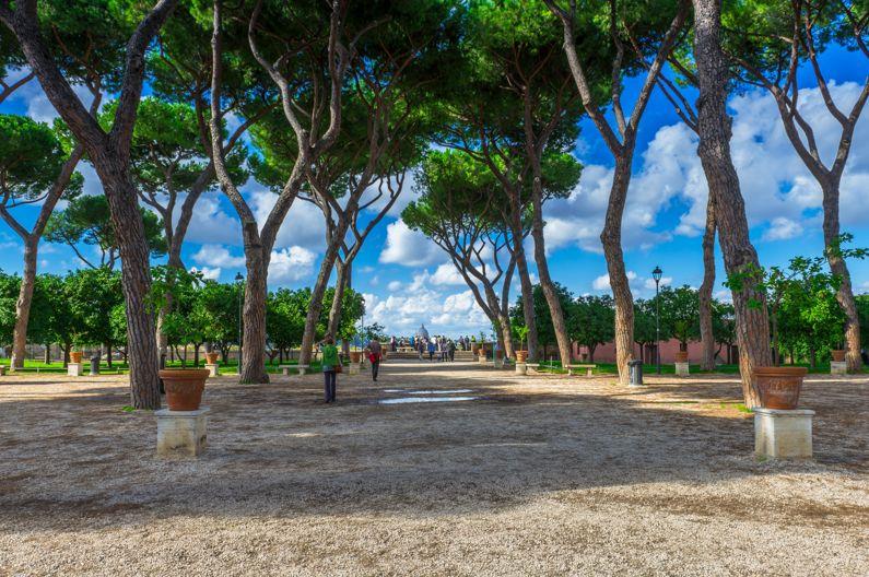Rome's parks